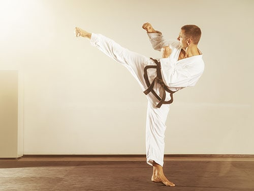 Kicks in Tae Kwon Do