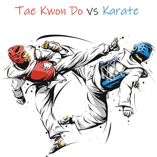 Difference between Tae Kwon Do and Karate