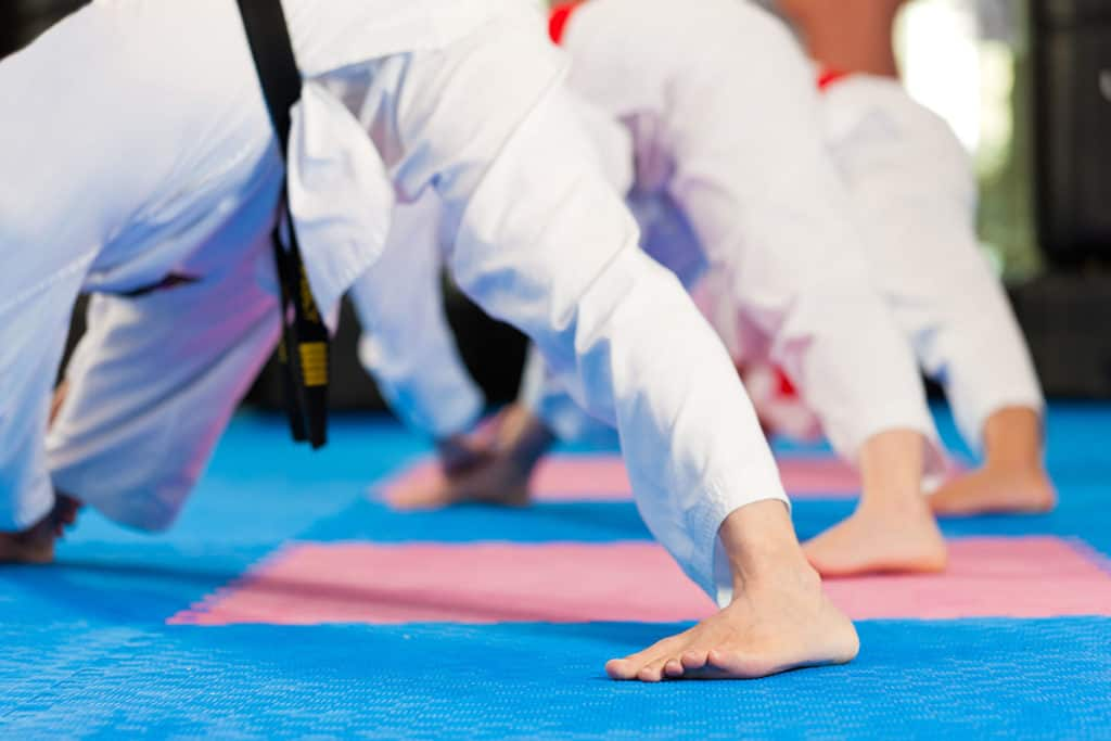 Tae Kwon Do Stretching