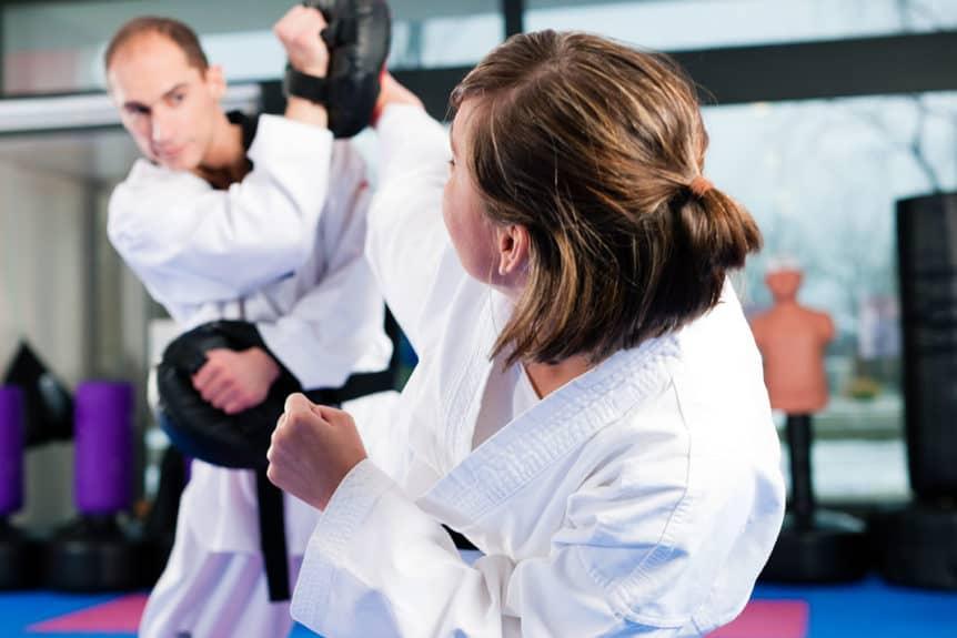 Roundhouse Kick Taekwondo