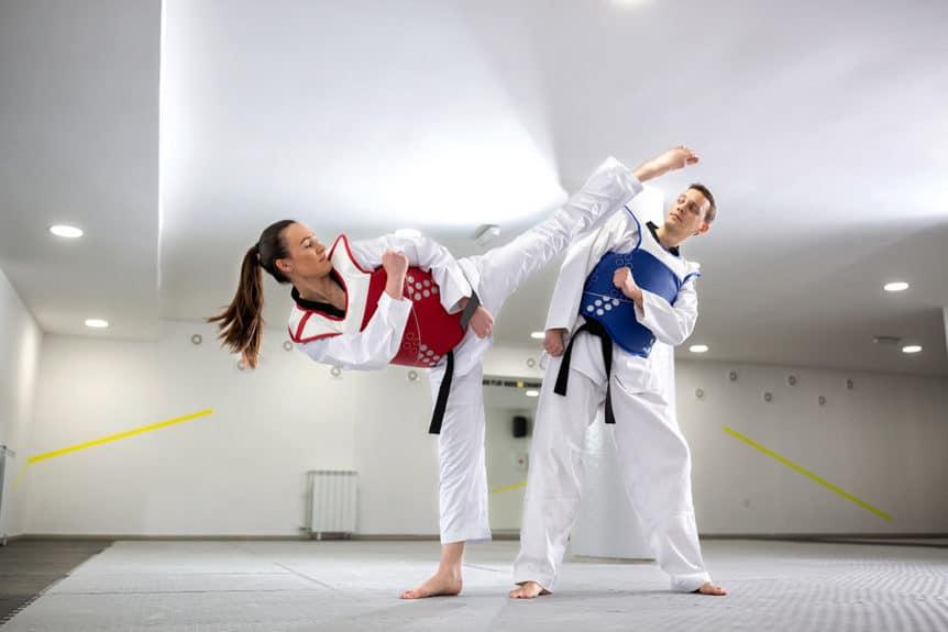 Kicking Faster in Taekwondo
